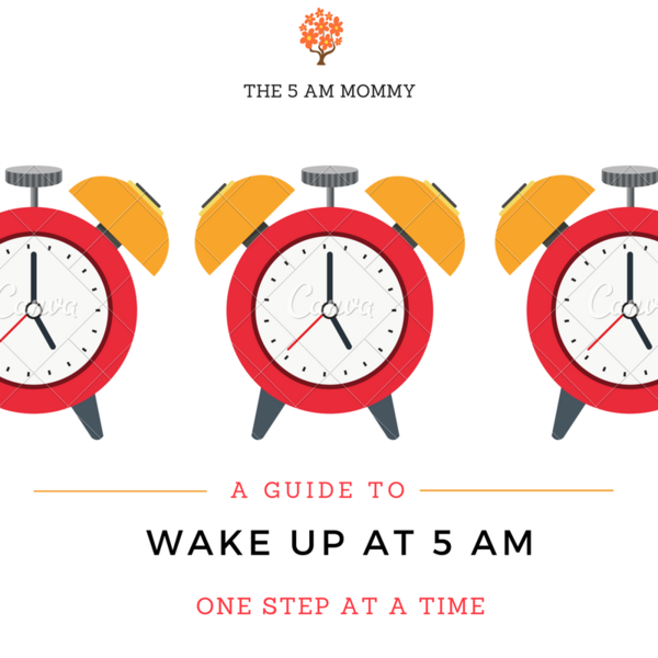 Waking up at 5 AM – one step at a time