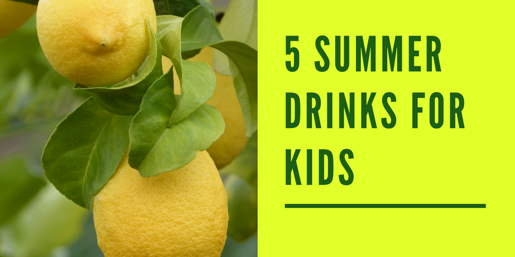 Top 5 Summer Drinks for Kids: