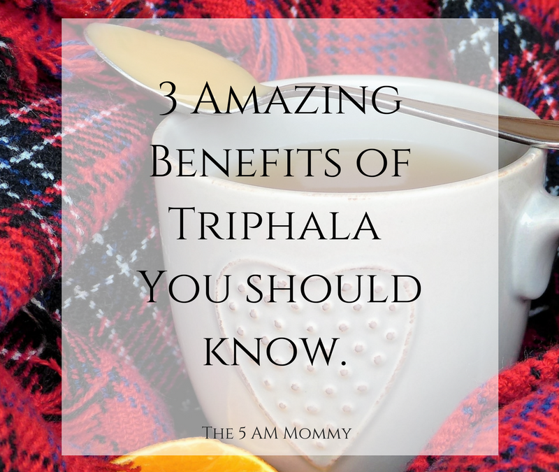 3 Amazing Benefits of Triphala Choorna