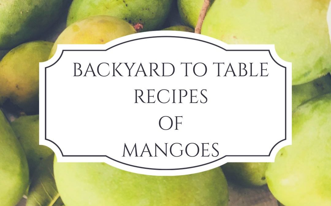 Backyard to Table – Making Jams and Pickles The Grandma Way