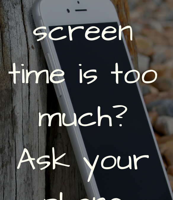How much screen time is too much? Ask you phone