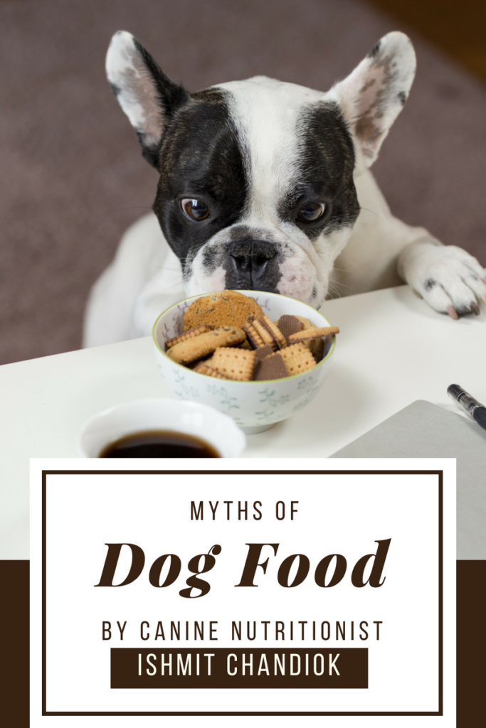 Myths of dog food