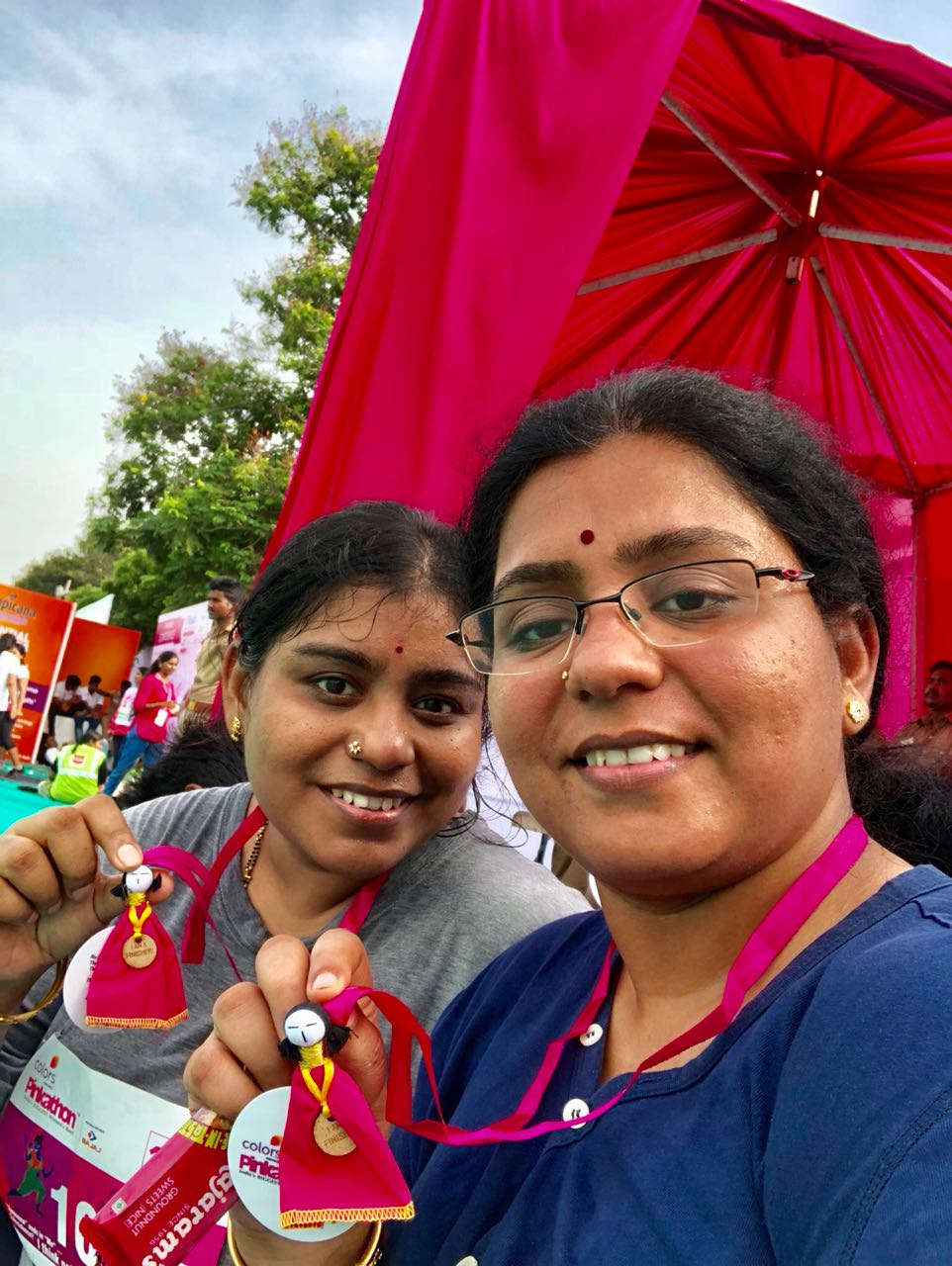 Left Doubters Behind with Pinkathon