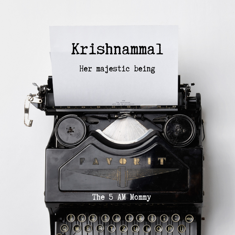 People and Personalities - Krishnammal