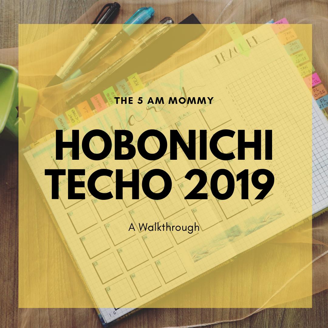hobonichi techo 2019