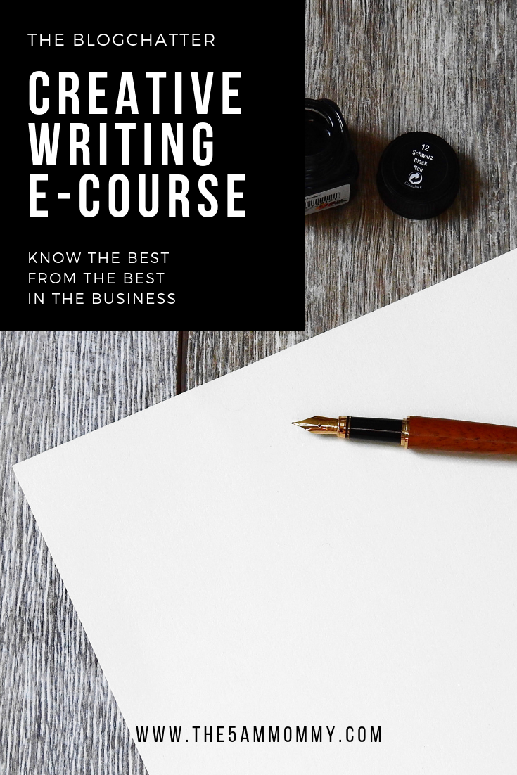 Know The Best From The Best In The Business – Creative Writing E-Course by The BlogChatter
