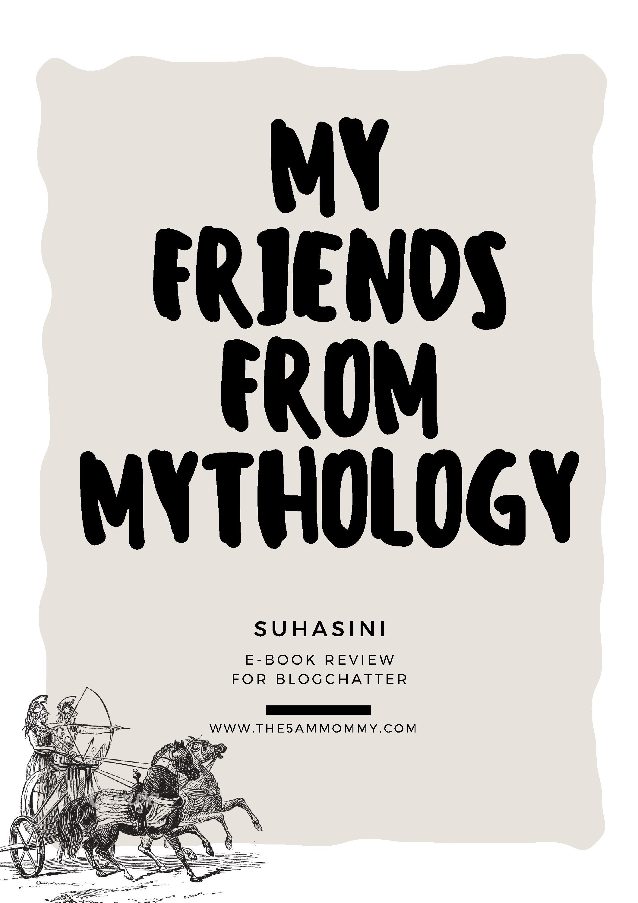 My Friends From Indian Mythology – Book Review