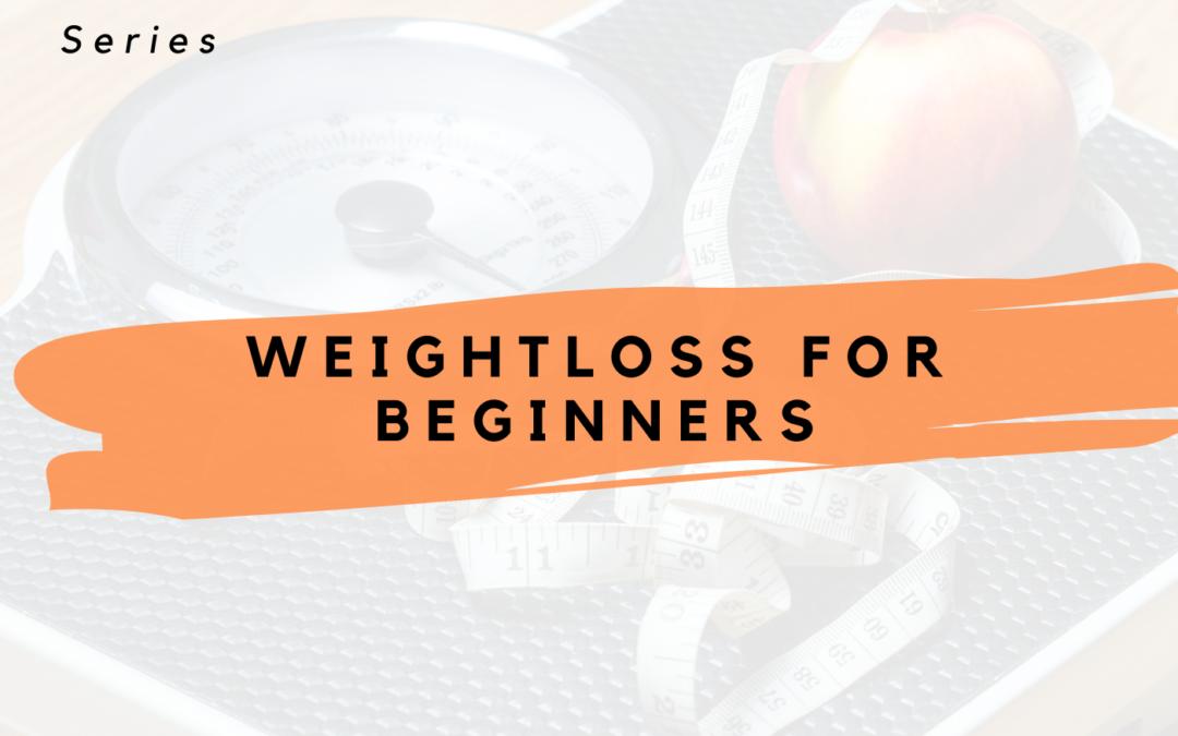 Losing Weight As Beginner