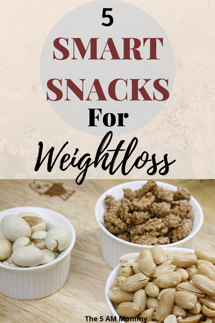 5 Smart Snacks for Weight Loss