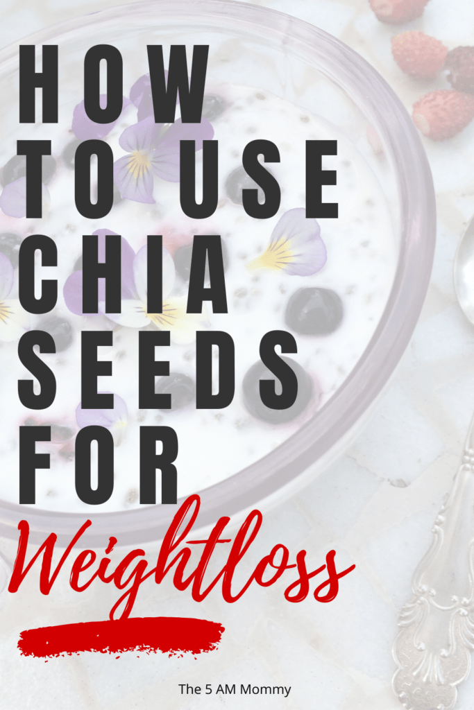 chia seeds for weightloss