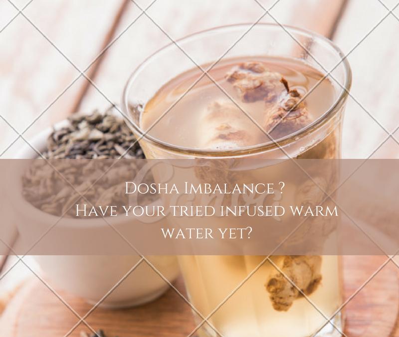 Correct Dosha Imbalance with infused warm water – InstaCuppa Post