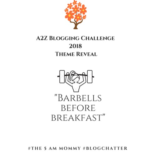 A2Z Blogging Challenge – Theme Reveal – BlogChatter